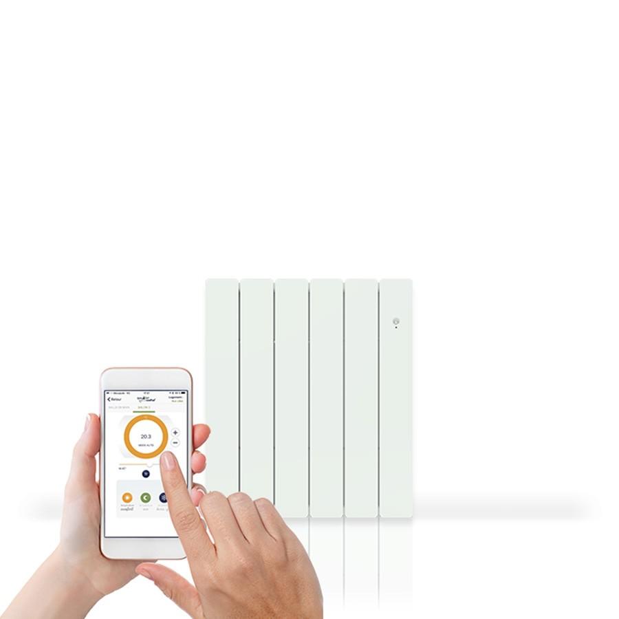 bellagio smart ecocontrol horizontal inertie fonte chauffage lectrique. Black Bedroom Furniture Sets. Home Design Ideas
