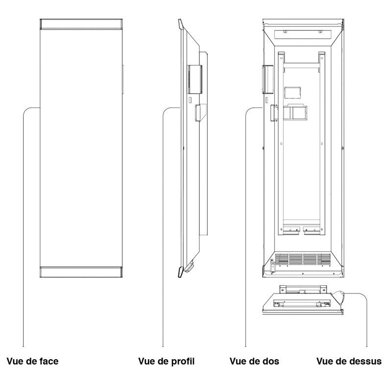 chauffage decor 01 48 34 20 20 le jobel de campa est un radiateur rayonnant inertie pilot e. Black Bedroom Furniture Sets. Home Design Ideas