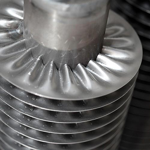 Chauffage Au Sol Electrique : Radiateur tube ailettes chauffage decor