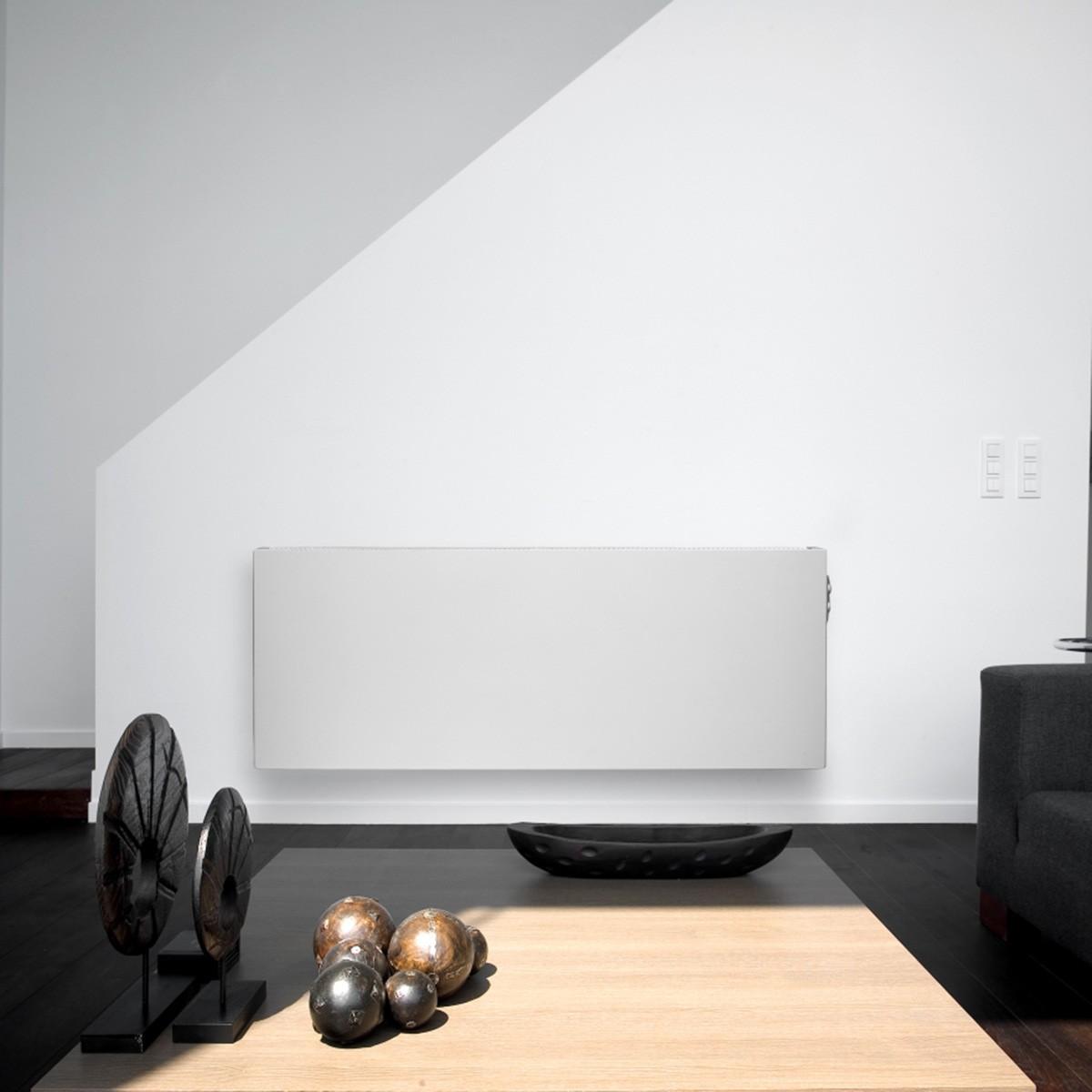 e panel blanc lisse inertie fluide chauffage lectrique. Black Bedroom Furniture Sets. Home Design Ideas