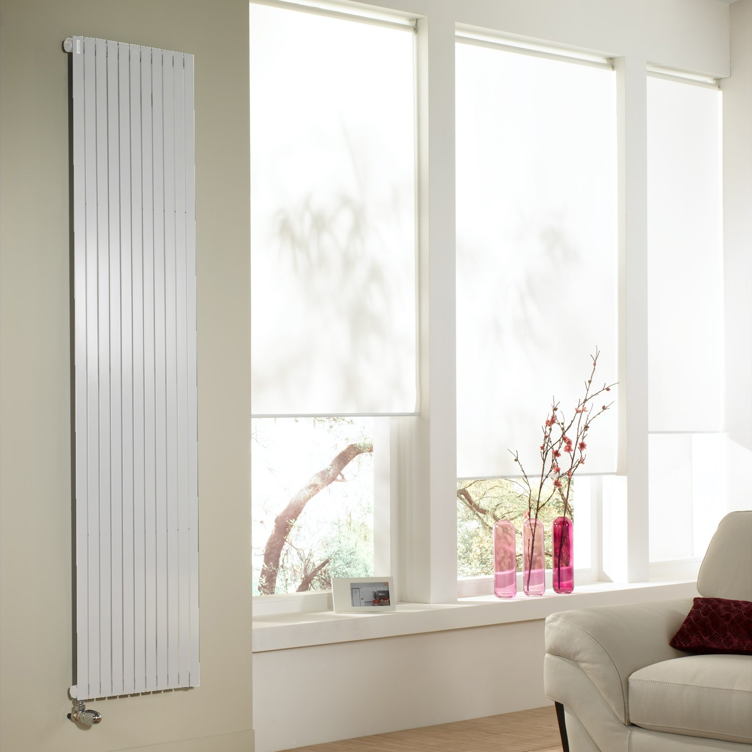 ALTAI vertical double blanc 1800W