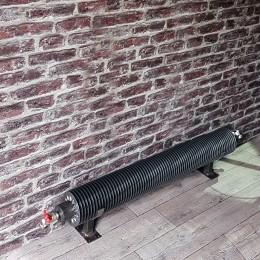 CHAUFFAGE DECOR : radiateur tube ailettes pour votre chauffage central