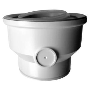 Adaptateur condensation pour conduit 80/125