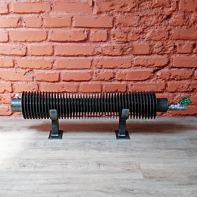 radiateur tube ailettes eau chaude pour votre chauffage central